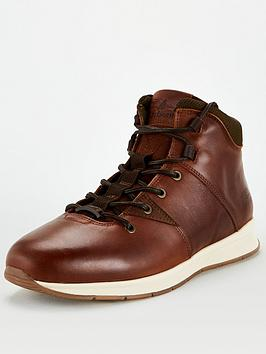 barbour-dunston-lace-up-boot-brown