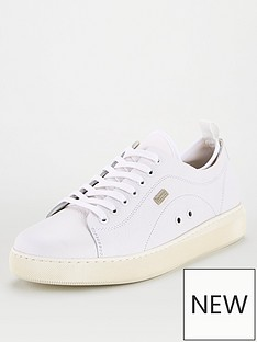 barbour-international-hailwood-lace-up-trainer-white