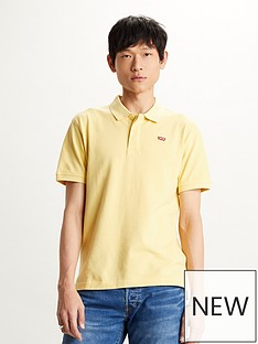 levis-original-polo-shirt-yellow