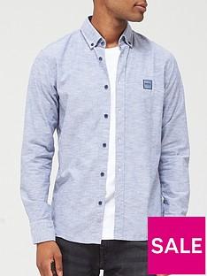boss-mabsoot1-oxford-shirt-dark-blue