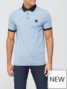 boss-contrast-collar-polo-shirt-dark-grey
