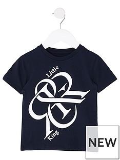 river-island-mini-boys-printed-short-sleeve-t-shirtnbsp--navy