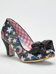 irregular-choice-ban-joe-sequin-star-print-heeled-shoe-black