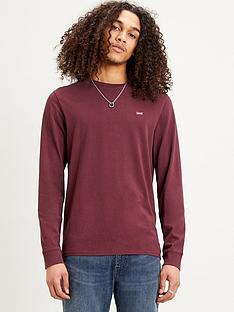 levis-original-housemark-long-sleevenbspt-shirt-rednbsp