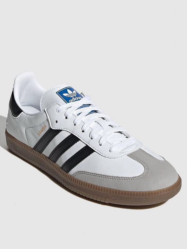 Categoría invención arquitecto  adidas Originals Samba Vegan - White | very.co.uk