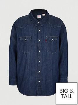 levis-big-tall-western-denim-shirt