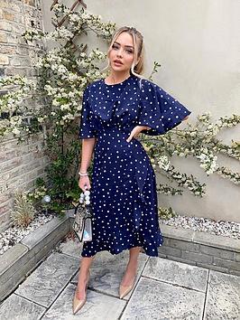 ax-paris-navy-polka-dot-midi-dress