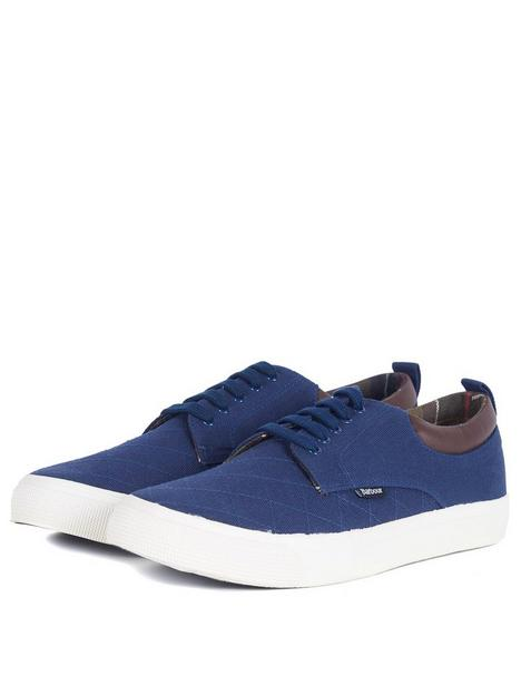 barbour-cromwell-canvas-lace-up-shoe