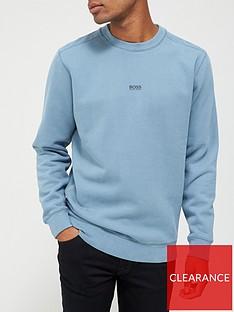 boss-weevo-centre-logo-sweatshirt-dark-grey