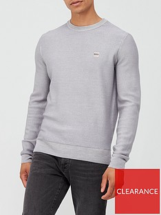 boss-anitoba-woolnbspknitted-jumper-grey