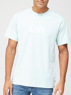levis-serif-small-chest-logo-t-shirt-grey