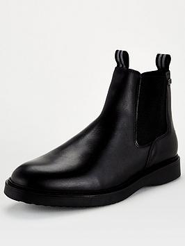 Barbour International Crank Chelsea Boot - Black