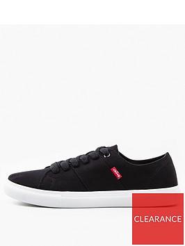 levis-pilsbury-canvas-lace-up-shoe-black