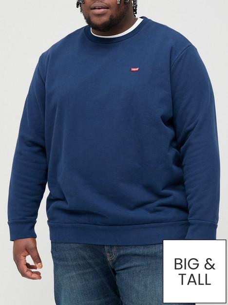 levis-big-amp-tall-housemark-original-crew-neck-sweatshirt-bluenbsp