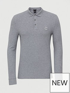 boss-passerby-long-sleeve-polo-shirt-greynbsp