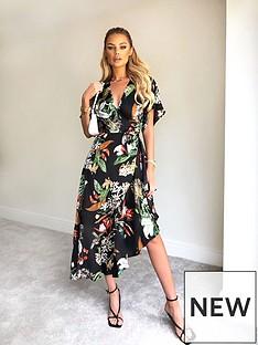 ax-paris-ax-paris-black-printed-tropical-midi-dress