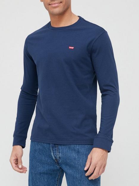 levis-long-sleeve-t-shirt-navy