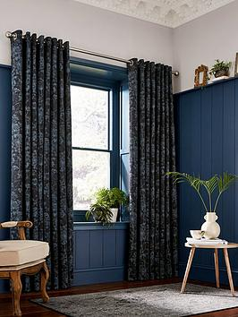 Product photograph showing Clarissa Hulse Dill Lined Curtains 90x72