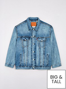 levis-big-tall-denim-trucker