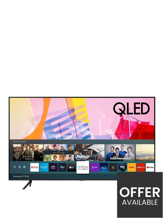 Samsung QE55Q60T 55 inch, QLED, 4K Ultra HD, Ambient Mode, HDR, Smart Q60 TV