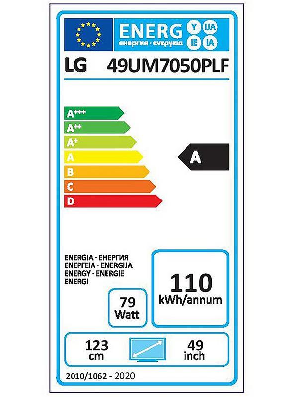 LG 49UM7050 49 inch, Ultra HD 4K, HDR, Smart TV | very.co.uk