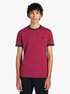 fred-perry-taped-ringer-t-shirt-port