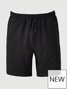 fred-perry-twill-track-short-black