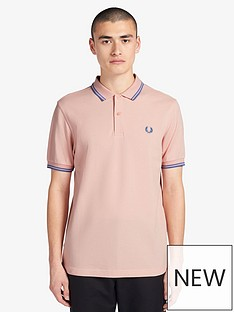 fred-perry-fred-perry-twin-tipped-polo-shirt-pink