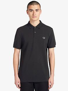 fred-perry-plain-polo-shirt-black