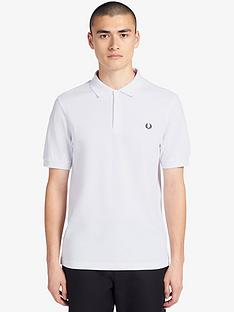 fred-perry-plain-polo-shirt-white