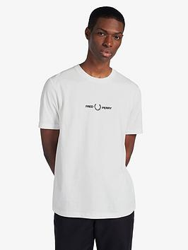 fred-perry-graphic-logo-t-shirt-white