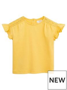 mango-baby-girls-frill-sleeve-tshirt-yellow
