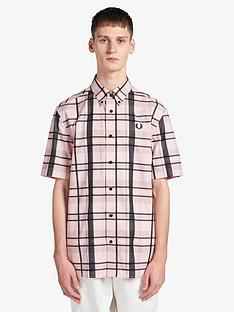 fred-perry-bold-tartan-shirt-pink