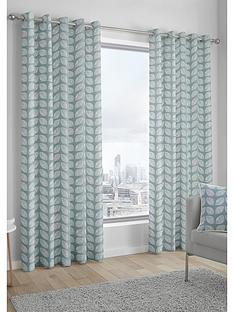 fusion-delft-lined-eyelet-curtains