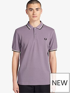 fred-perry-twin-tippednbsppolo-shirt-lavender