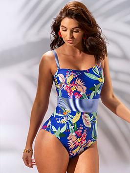 pour-moi-pour-moi-ultramarine-reef-printed-control-swimsuit