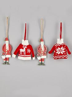 gisela-graham-set-of-4-traditional-jumpers-amp-santas-christmas-tree-decorations