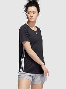 adidas-3-stripe-tee-black