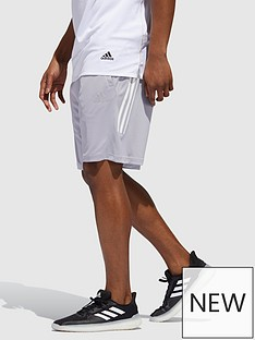 adidas-3-stripe-shorts-grey