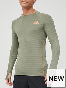 adidas-runner-long-sleeve-t-shirt-green