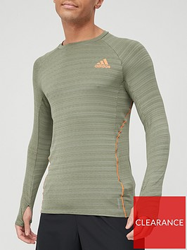 adidas-runner-long-sleeve-t-shirt-green
