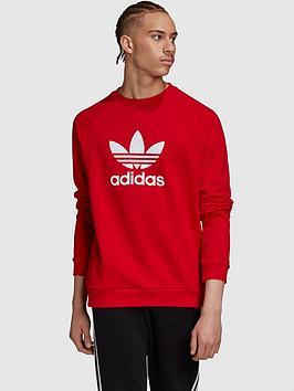 adidas-originals-trefoil-crew-sweatshirtnbsp--rednbsp