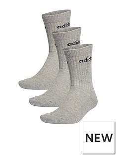 adidas-cushion-crew-socks-3-pack-greynbsp
