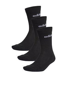 adidas-adidas-cushion-crew-3-pack-black