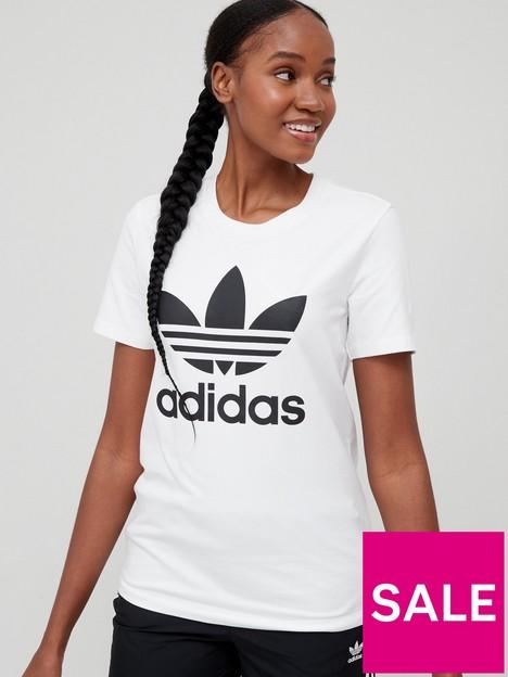 adidas-originals-trefoil-tee-white