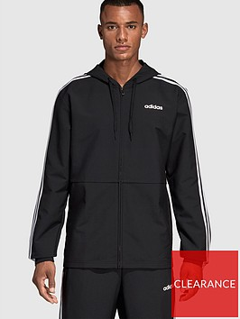 adidas-essential-3-stripe-windbreak-blacknbsp