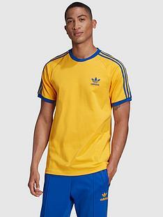 adidas-originals-3-stripe-t-shirt-goldnbsp