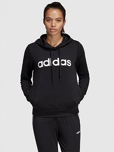 adidas-essentials-linear-pullovernbsphoodie-blacknbsp