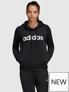 adidas-essentials-linear-pullovernbsphoodie-blacknbsp
