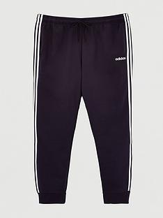 adidas-plus-size-essential-3-stripe-track-pants-black
